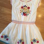 Платье Дисней  вышивка