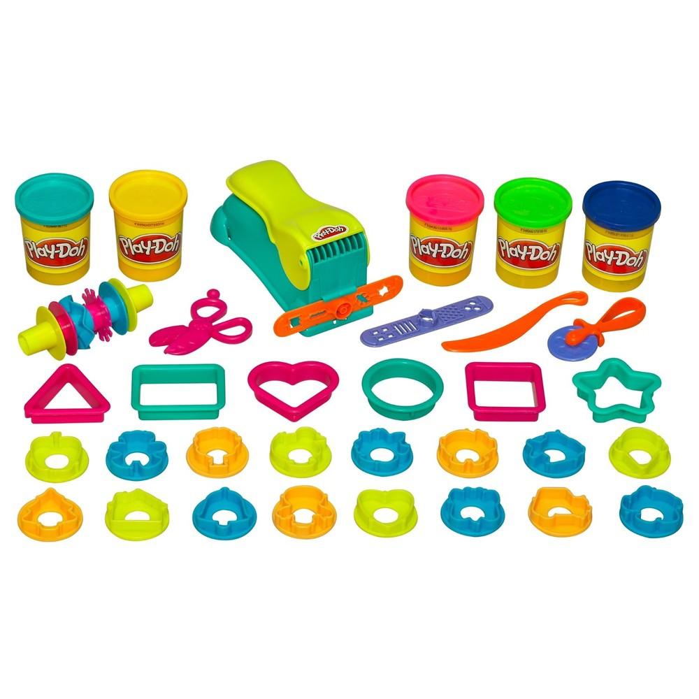 Play-doh набор пластилина с формами веселая фабрика fun factory mega set фото №1