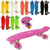 Скейт Пенни борд  со светящимися колесами