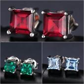 JewelryPalace  Серебряные серьги гвоздики  925 проба