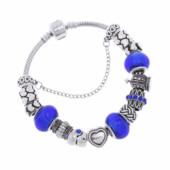 Браслет в стиле пандора ( pandora ) - Любовь «Blue Aster»