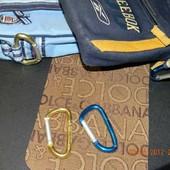 Reebok carаbine карабин (золотой и синий) 2 штуки в лоте