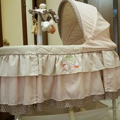 Детская кроватка 3 в1 Колыбель Simplicity(США)с вибро укачиванием  oт 0 до 6 месяцов
