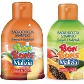 Италия, Детский концентрированный гипоаллергенный шампунь Bon Bons, с нейтральным Ph балансом