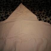 Пеленка с капюшоном персиково- бежевый цвет