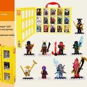 Подарочный набор  Black Ninja, 15 героев
