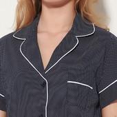 Распродажа - Рубашка синяя размер M  L от Oysho  женская блуза