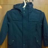 куртка пальто для мальчика