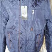 Весенняя мужская курточка под резинку с 48 по 62 размер