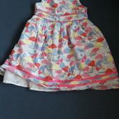 Красивое платье TU 3-4 года