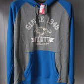 Толстовка Puma Style athl hooded sweat (832252-08) Оригинал р.М