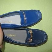 Шкіряні мокасинчики-туфлі нова підошва 2 кольора 36-41