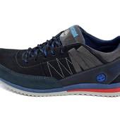 Кроссовки мужские Т1 flow синие (реплика)