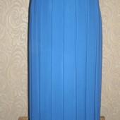 Шифоновая юбка плисе на подкладке, 48-50р., смотрим замеры.