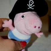 Фирменный брелок любимый братик Джордж пират Peppa Pig свинка Пеппа