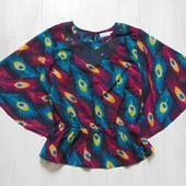 Шикарная блуза для девочки. M&Co. Размер 7-8 лет. Состояние: новой вещи