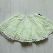 Стильная юбка для девочки. Умеренно-пышная. Baby K. Размер 12-18 месяцев. Состояние: новой вещи