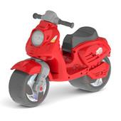 Скутер беговел Орион красный 502