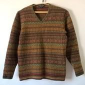 Свитер мужской шерсть джемпер пуловер