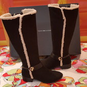 Tommy Hilfiger новый оригинал сапоги ботинки размер 37 24,5 см