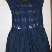 платья next 4-5 лет