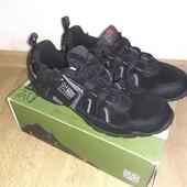 Мужские кроссовки Karrimor замшевые чёрные