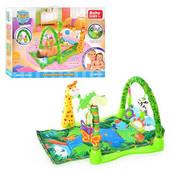 """Детский коврик для малышей """"Тропический лес """" 3059"""
