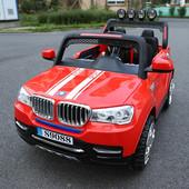 Детский электромобиль Bmw Ty8088B - С 4 моторами, надувка