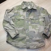 Моднявая фирменная рубашка Rebel камуфляж