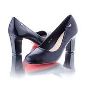 Классические черные туфли 9879