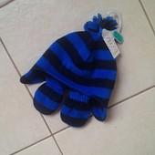 комплектик шапка и рукавички F&F
