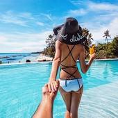 шляпа женская летняя ТОП от солнца шляпка панамка кепка купальник женский туника пляжная соломенная