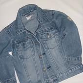 куртка джинсовая на 1.5-3 года