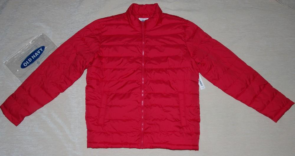 9c777a383042 Демисезонная куртка Old Navy размер L красная новая мужская качество фото №1