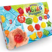 Детское фигурное мыло 12 шт, Danko Toys