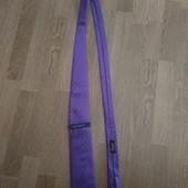 TM Lewin новый фиолетовый шелковый галстук ( ручная работа,)