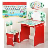 Детская парта+стульчик МV-902-3-3