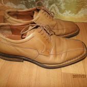 (№і500)фирменные кожаные туфли 40 р Barisal