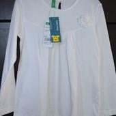 Реглан блузка фирмы Вenetton Р110 4-5 лет