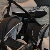 Детская коляска Tutis Zippy New Waves 3 в 1