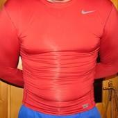 Спортивная фирменная термо кофта футболка реглан Nike.м-л.