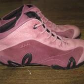 Кожаные демисезонные ботинки Ecco  р.39 Индонезия