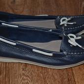 Туфли,мокасины,топсайдеры Footglove.5 размер на 37.24см.Кожа.Англия.