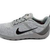 Кроссовки мужские Nike кobe 11 еulogy серые (реплика)