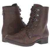 Ботинки Guess, полусапожки Guess коричневые со шнуровкой