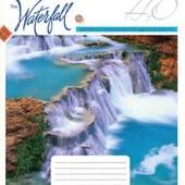3шт. Тетрадь школьная 96л. # 794167 Прекрасные водопады 3шт.