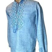 Рубашка, сорочка, вишиванка джинс