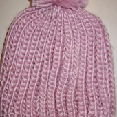 стильная женская детская шапка