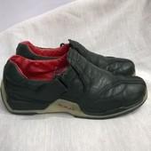 Кожаные туфли,мокасины.Guess.