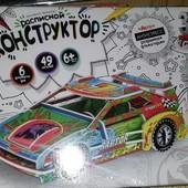 3d конструктор. Авто.3d пазл. 3DK-01-06